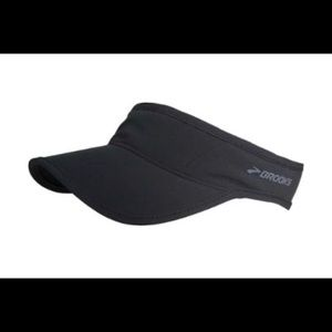 Brooks Sherpa Running Visor in Black NWOT